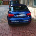 Audi A1 Medikom Heck Folierung