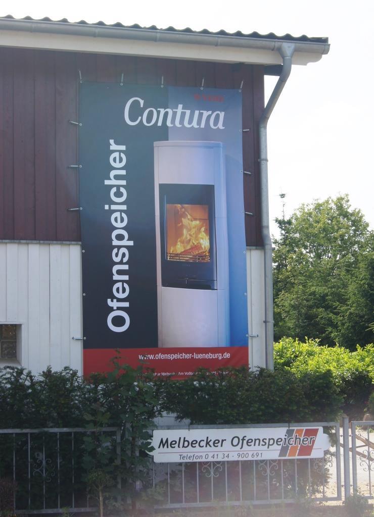 6 x 3 Meter Ofenspeicher Banner