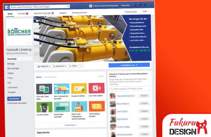 Facebook Böttcher Seite
