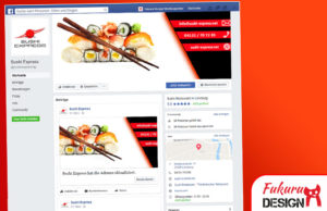 Facebook Sushi Express Lüneburg Seite