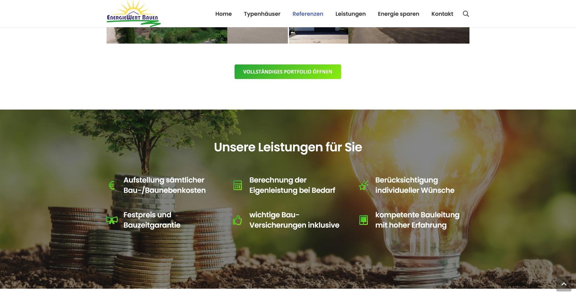 EWB Webseite von Fukuru Design