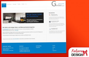 Website Gerber Naturstein