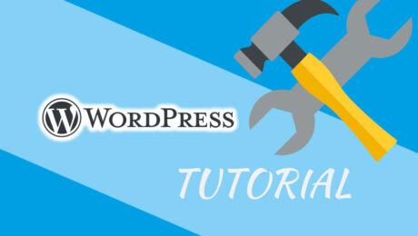 Wordpress Basis Konfiguration